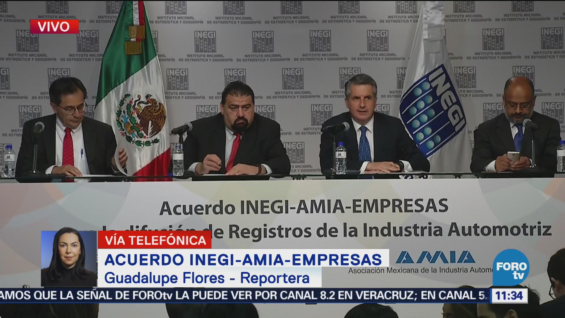 INEGI dará cifras de producción de