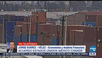 Jorge Suárez-Vélez habla sobre el acuerdo México- EU-Canadá