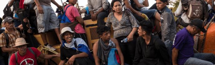 Caravana migrante llegará a CDMX en noviembre