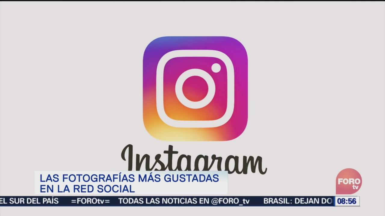Las fotografías con más 'likes' en Instagram