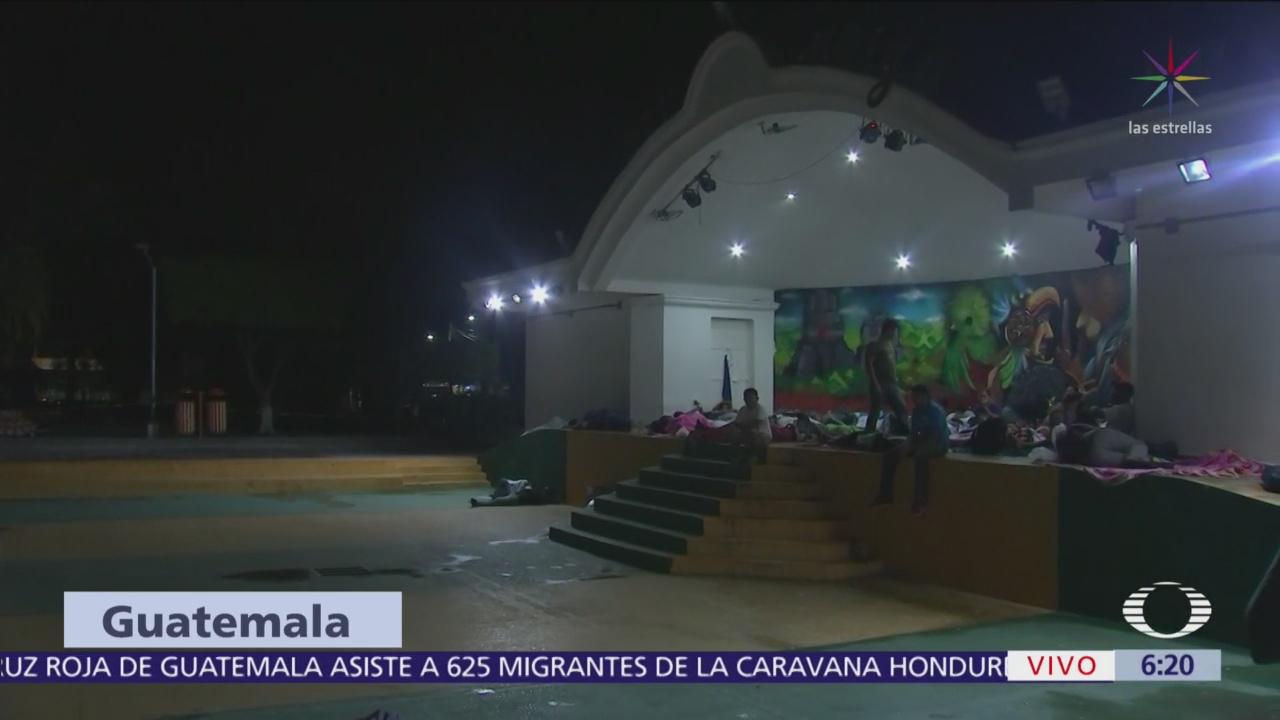 Llegan migrantes a frontera de México