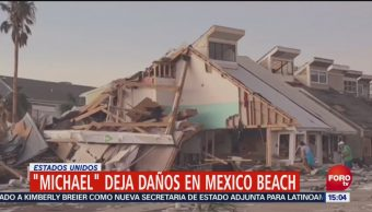 Daños Michael México Beach Francisco Villalobos