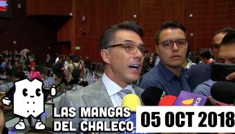 Las Mangas del Chaleco: El actor Sergio Mayer a cultura, el uniforme del Cuauh, y ¡adiós TLCAN, hola USMCA!