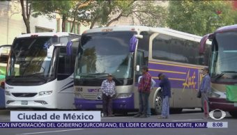 Manifestantes afectan la vialidad en Municipio Libre