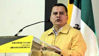 Manuel Granados deja presidencia del PRD