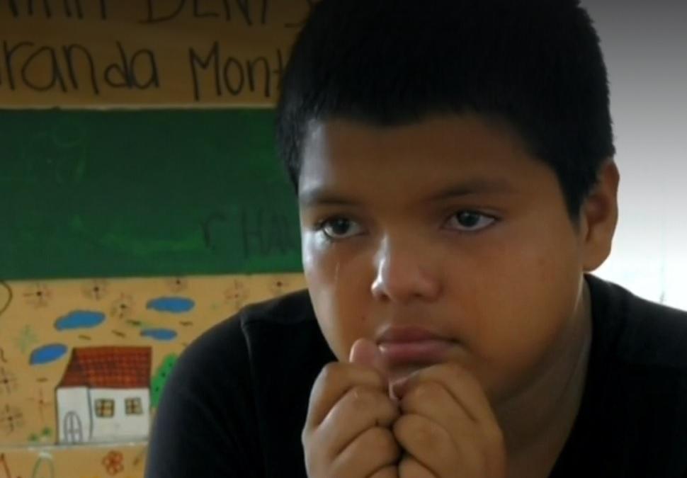 Caravana migrante: Mario David Castellanos, el niño que huyó de los maras