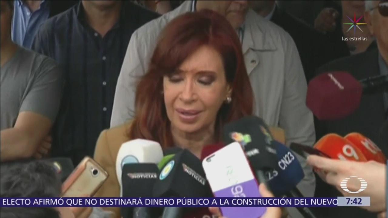 Máximo tribunal de Argentina autoriza juicio contra Cristina
