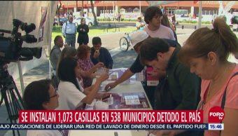 Mexicanos participan en consulta para decidir futuro del Nuevo Aeropuerto