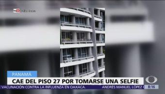 Mujer cae desde el piso 27 por tomarse una selfie