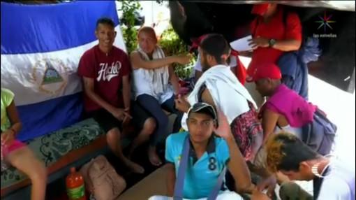 Nicaragüenses Caravana Migrante Huyen Régimen Ortega