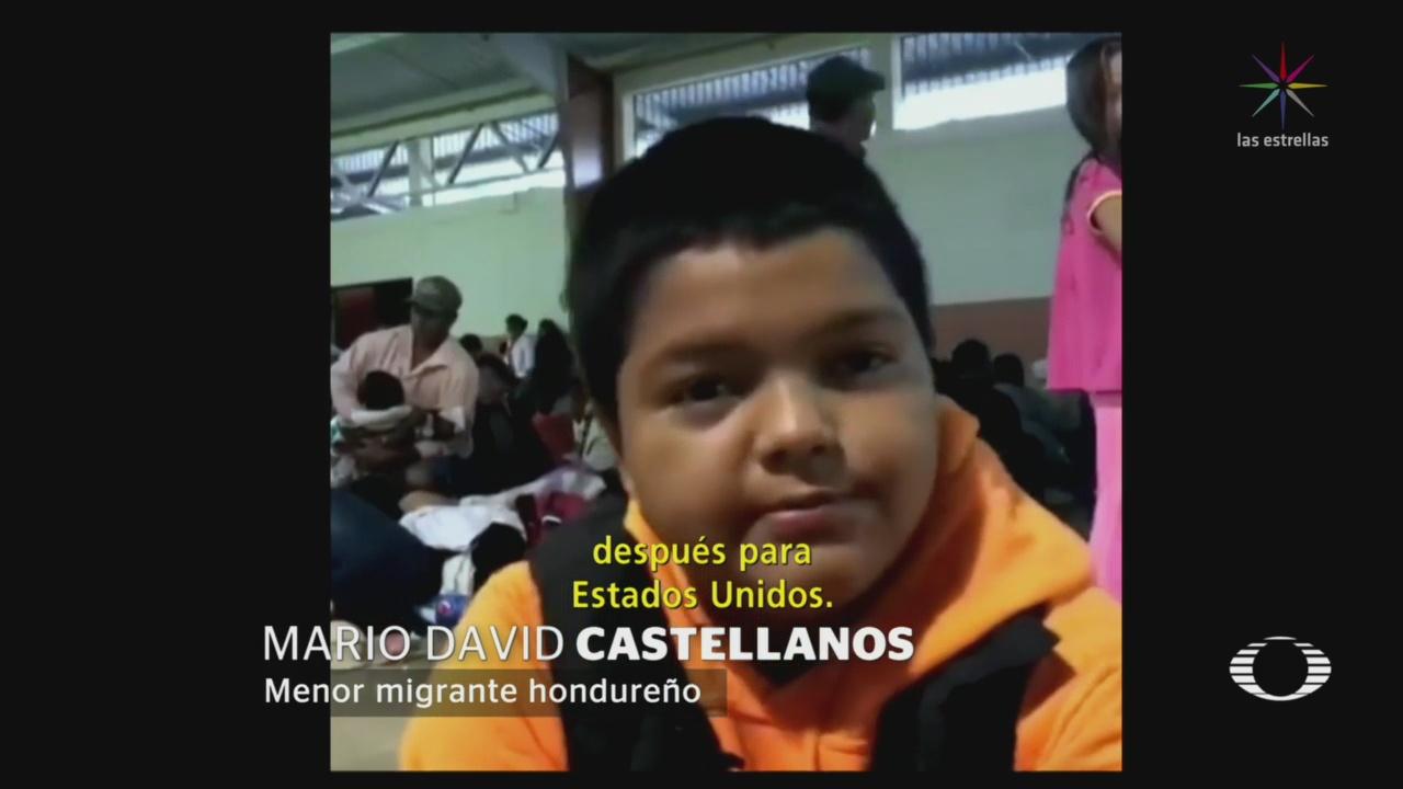 Niño Migrante Bajo Resguardo Del DIF
