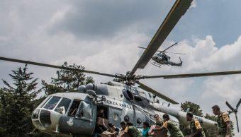 Oaxaca implementa puente aéreo a comunidades afectadas