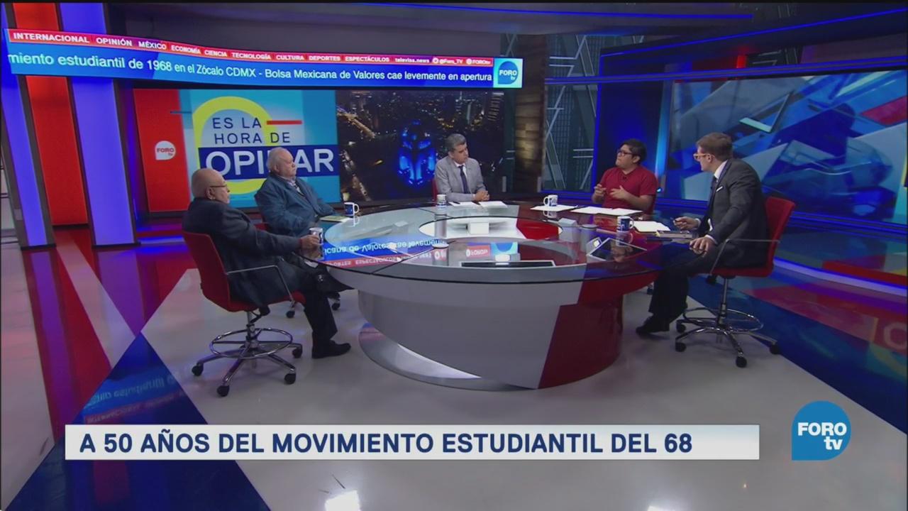Trascendencia Movimiento Estudiantil 1968 México Actual