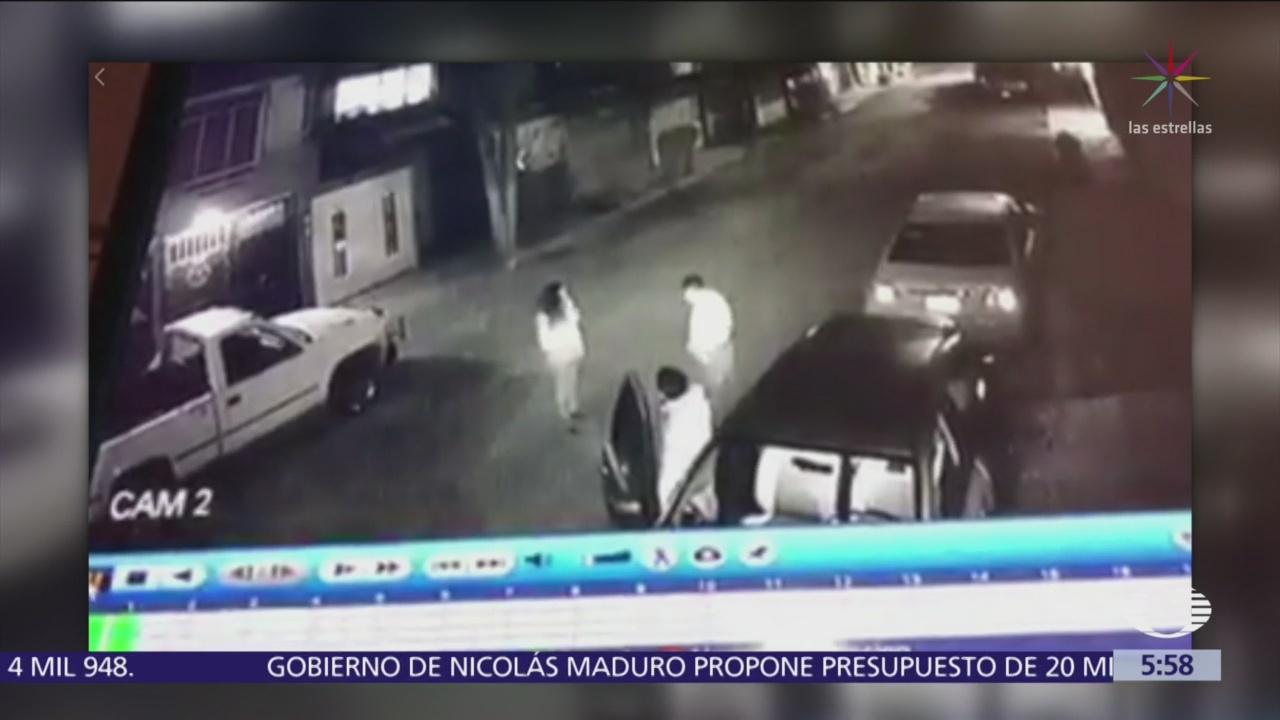 Pareja asalta y secuestra a víctima en Cuautitlán Izcalli, Edomex