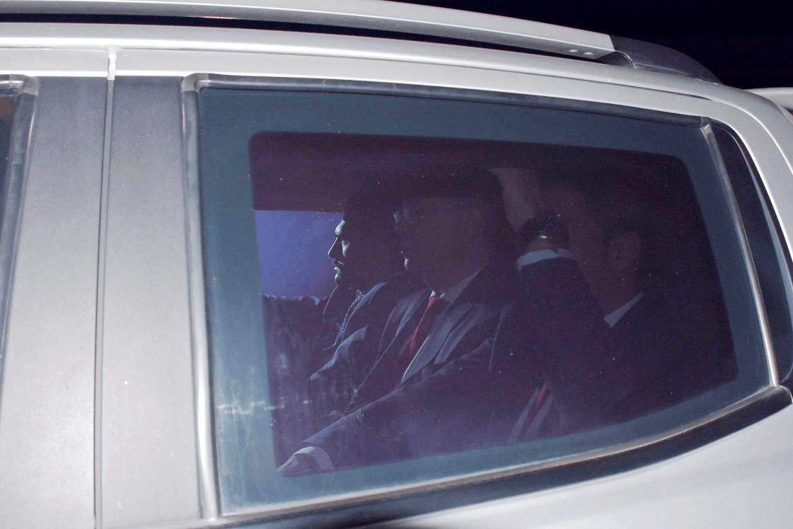 El pastor Andrew Brunson en automóvil. (EFE)