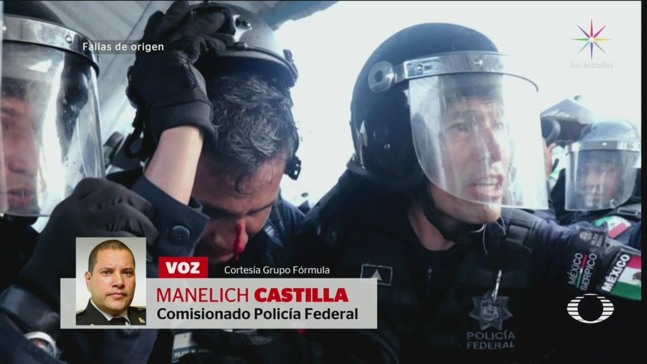PF No Utilizó Balas Goma Migrantes Manelich Castilla