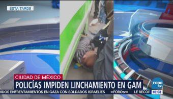 Policía impide linchamiento en GAM