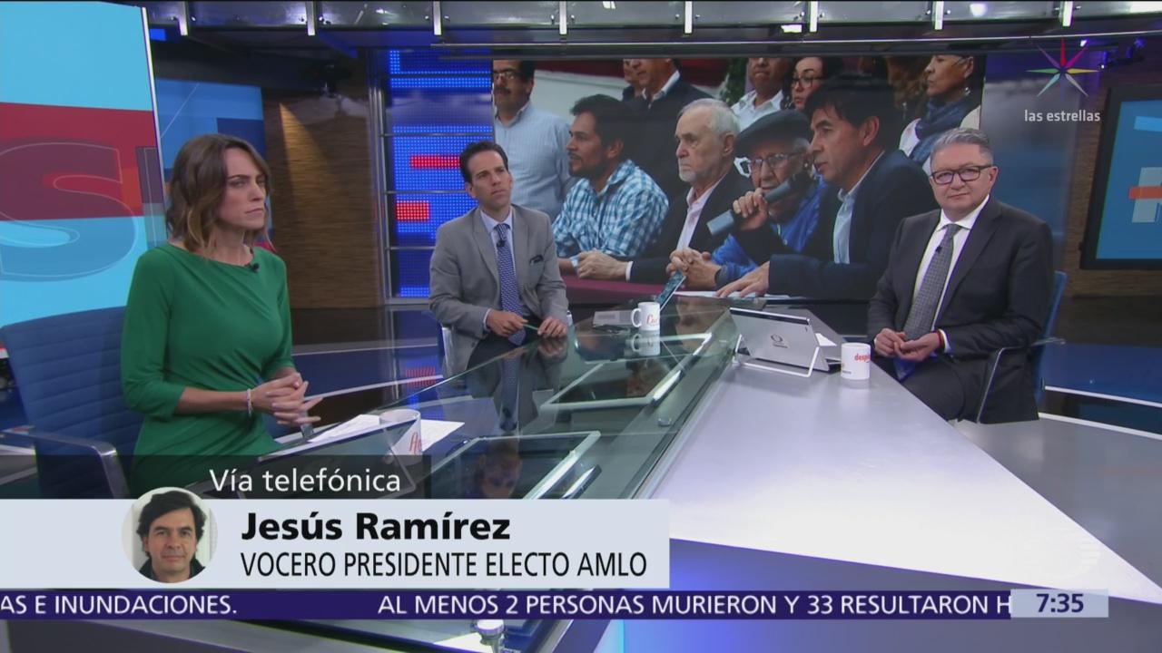 Ramírez Cuevas Atenderemos reclamos para modificar preguntas de consulta sobre nuevo aeropuerto