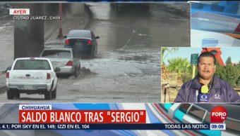 Llueve 19 Horas Chihuahua Sergio Remanentes