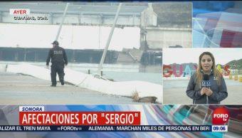 Continúan Afectaciones Sergio Sonora Inundaciones