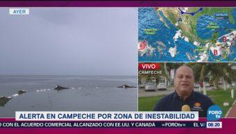 Alerta Campeche Zona De Inestabilidad