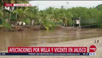 Saldo blanco en Jalisco tras paso de 'Willa'