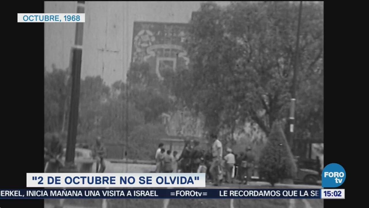 Se cumplen 50 años de la masacre de Tlatelolco