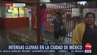 Inunda Hospital Ticomán Lluvias Miércoles CDMX