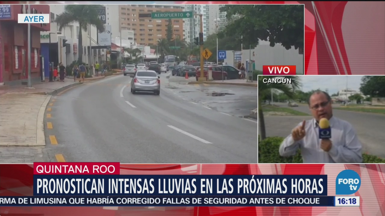 Se mantiene alerta por tormenta en Quintana Roo