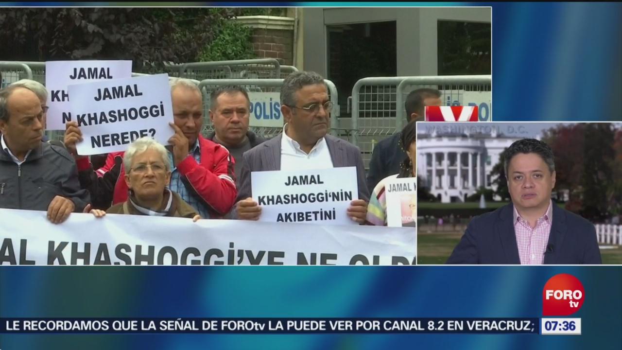 Servicios de inteligencia turcos saben que le pasó al periodista Jamal Khashoggi