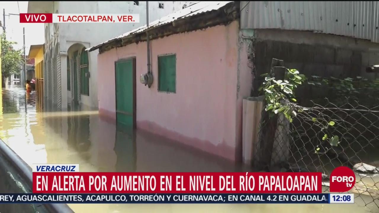 Siguen las afectaciones por inundaciones en Tlacotalpan
