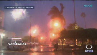 Sinaloa aún sufre los efectos del huracán 'Willa'