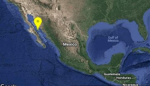 Se registra sismo de 4.4 en Santa Rosalia, BCS