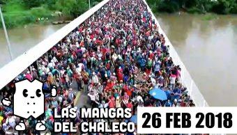 Las Mangas del Chaleco: Llegó la caravana... quién sabe el aeropuerto