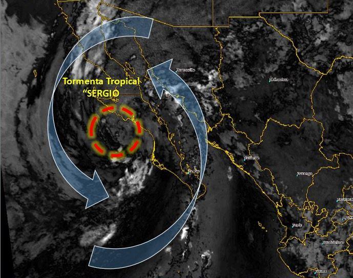 tormenta tropical sergio suspenden clases en ocho municipios sinaloa