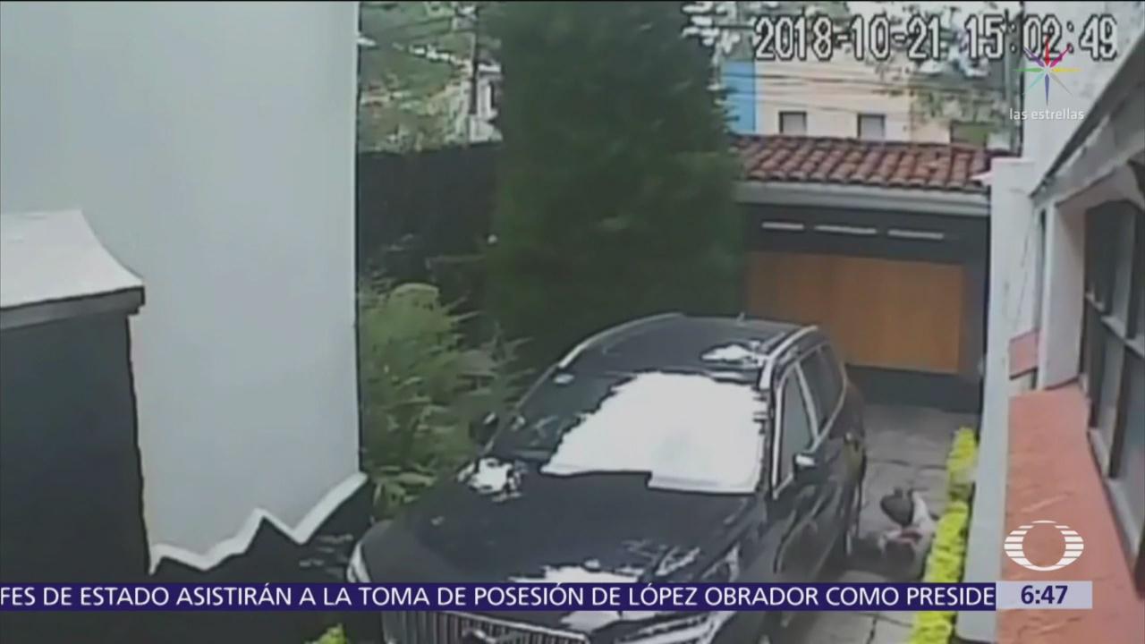 Video de la balacera en casa del cardenal Norberto Rivera