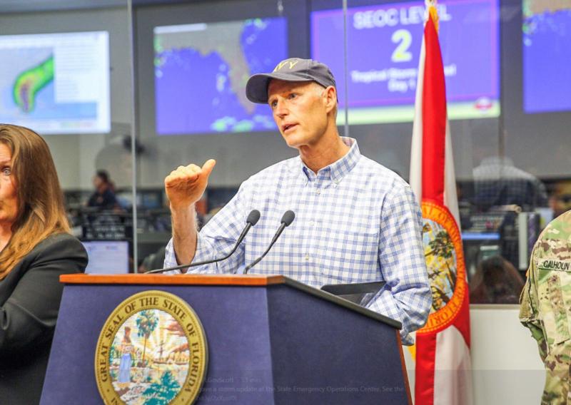 rick scott gobernador florida estado emergencia
