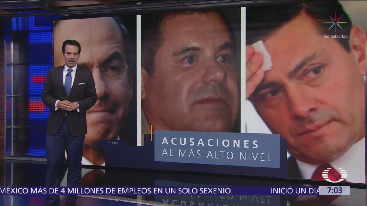 Abogado de 'El Chapo': EPN y Calderón recibieron sobornos de narcos