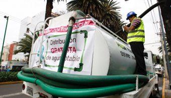 CDMX prevé que servicio de agua se restablezca al 100% el jueves
