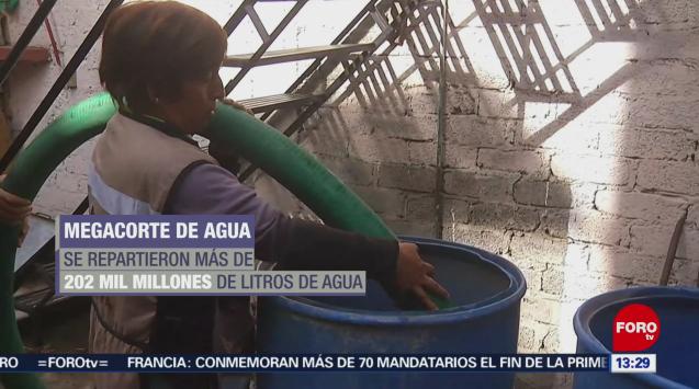 Se normaliza servicio de agua en Ciudad de México