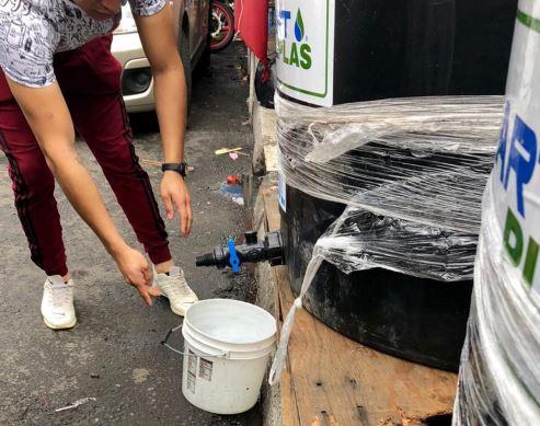 Alcaldías del poniente tendrán redes de agua estabilizadas el sábado