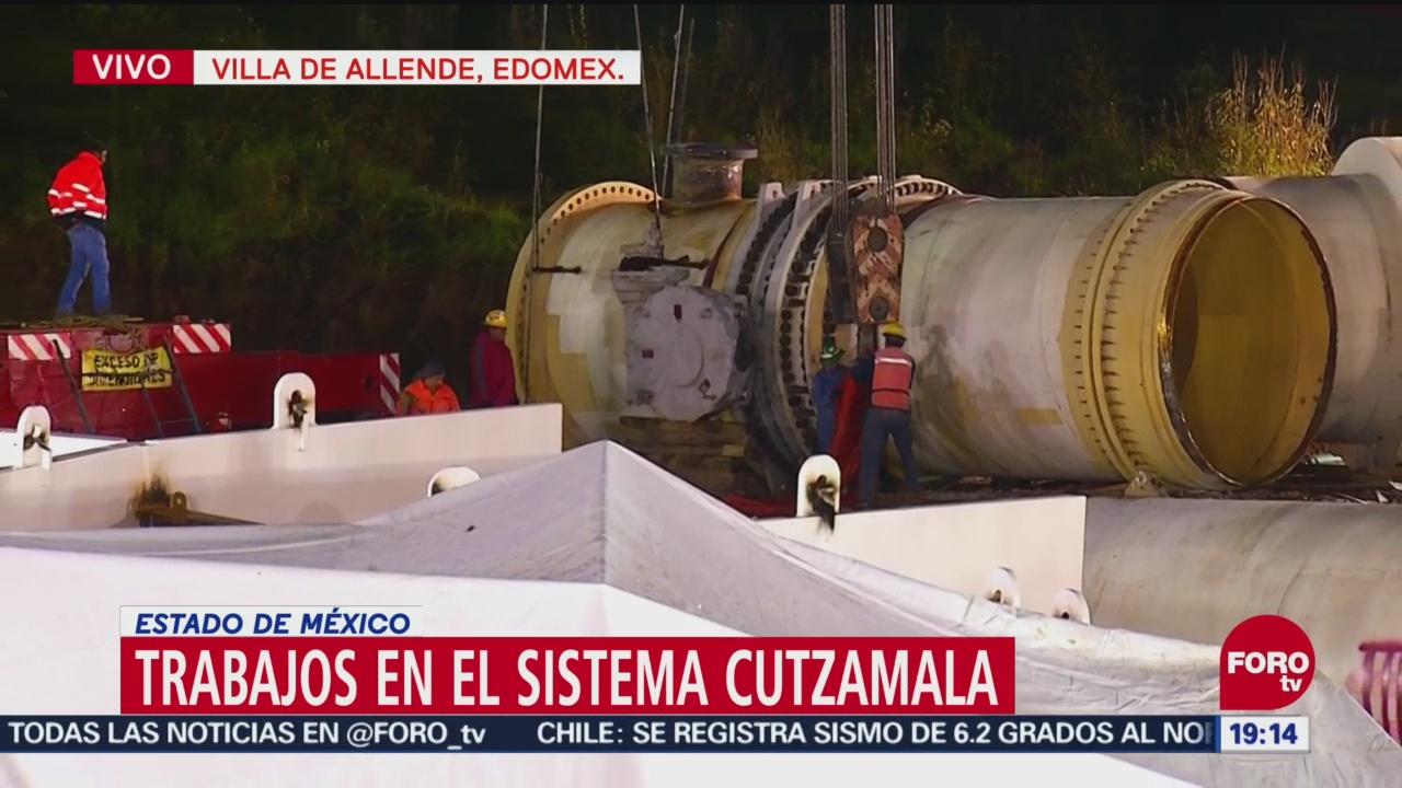 Alistan Tubería Cutzamala Colocar Válvula Corte Agua