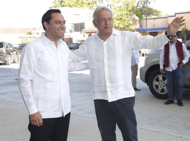 AMLO se reúne con gobernadores del sureste para discutir Tren Maya