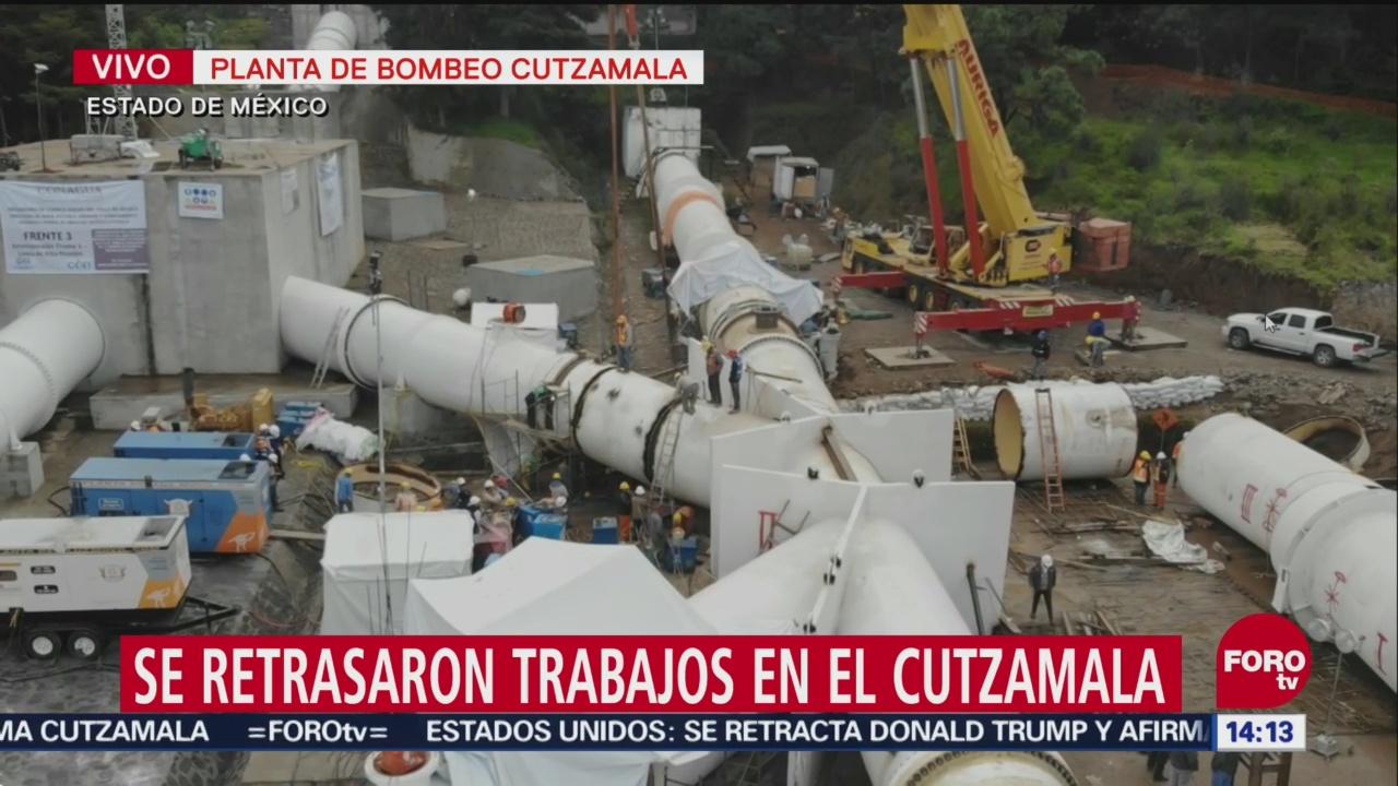 Así Son Los Trabajos Que Se Realizan En El Cutzamala, Equipo De Soldadores, Sistema Cutzamala, Reanudar El Suministro De Agua, Ciudad De México