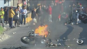 Bloqueo En La México-Pachuca Duró 20 Horas