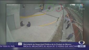 Difunden video de asalto frustrado en Polanco, CDMX