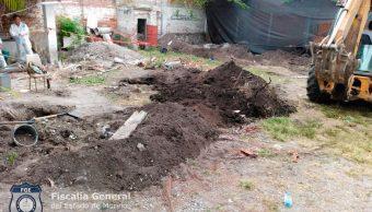 Hallan tercer cadáver en cateo a predio en Ayala, Morelos