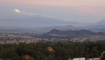 Foto: Panorámica del Valle de México; la calidad del aire es regular, 24 febrero 2019