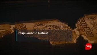 Cápsula para preservar códice maya