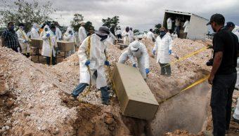 Chihuahua envía 25 cadáveres a la fosa común